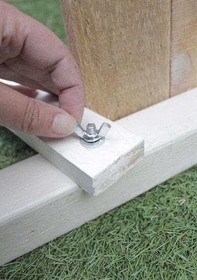 How to make a chair. Pallet Deck Chair - Step 6