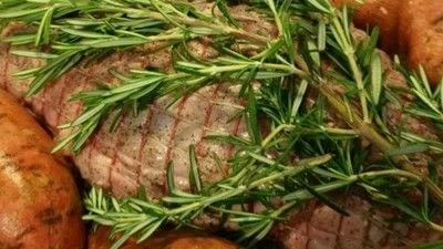 How to cook a lamb dish. Easy Garlic Rosemary Leg Of Lamb - Step 3