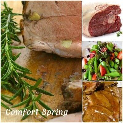 How to cook a lamb dish. Easy Garlic Rosemary Leg Of Lamb - Step 5