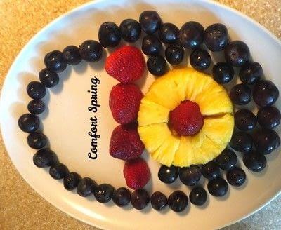 How to make a fruit salad. Spring Fruit Platter and Fruit Salad - Step 1