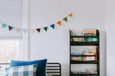 How to make bunting. Felt Garland For Kids Rooms - Step 3