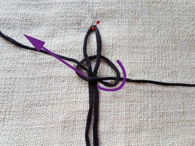 How to make a sandal / flip flop. Barefoot Sandals From T Shirt Yarn - Step 7