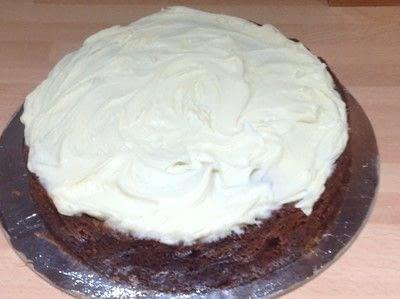 How to bake an apple cake. Spiced Apple & Pecan Cake - Step 11