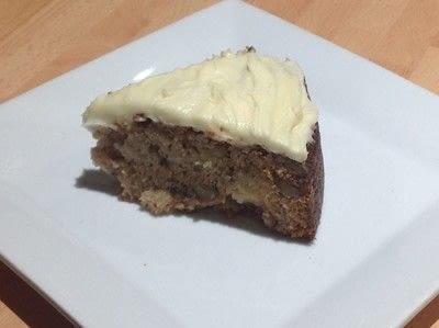 How to bake an apple cake. Spiced Apple & Pecan Cake - Step 12
