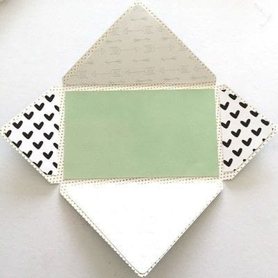 How to make an envelope. Envelope Flipbook - Step 3