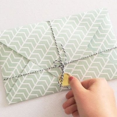 How to make an envelope. Envelope Flipbook - Step 9
