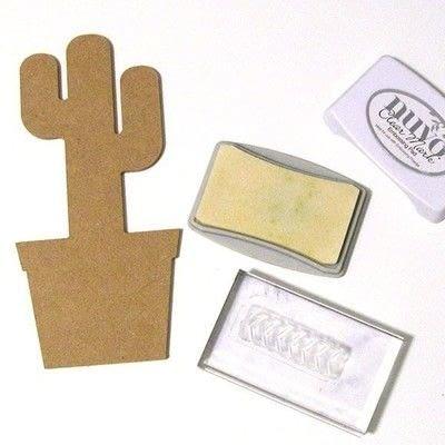 How to make a piece of paper art. Geometric Cactus Trio - Step 3