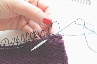 How to make a techniques. Hem Stitch - Step 3