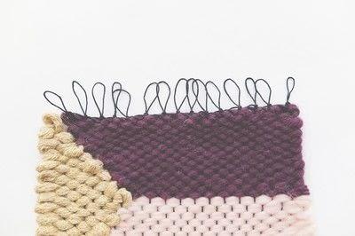 How to make a techniques. Hem Stitch - Step 4