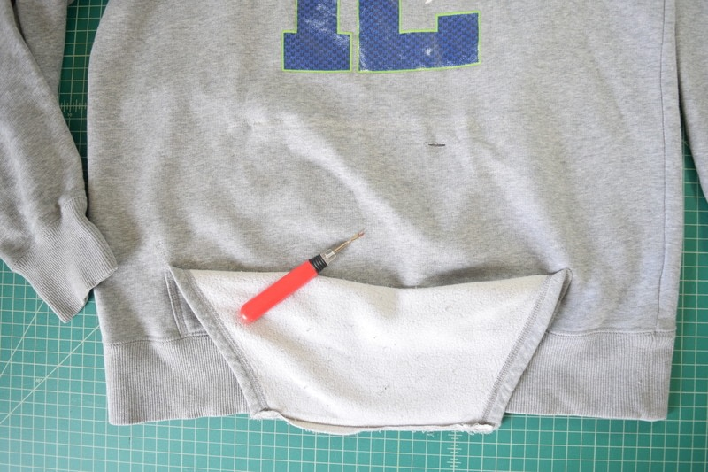 Diy Cropped Hoodie With Drawstring Waist How To Make A