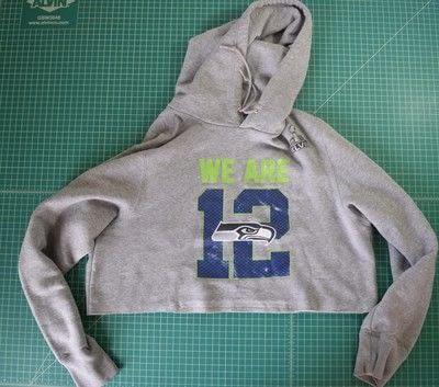 How to make a hoodie. Diy Cropped Hoodie With Drawstring Waist - Step 2