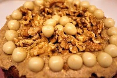 How to bake a coffee cake. Turkish Coffee Cake - Step 14