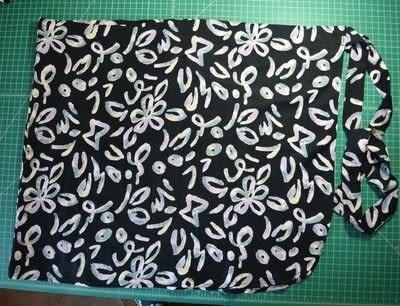 How to make a wrap skirt. Diy Wrap Skirt - Step 12
