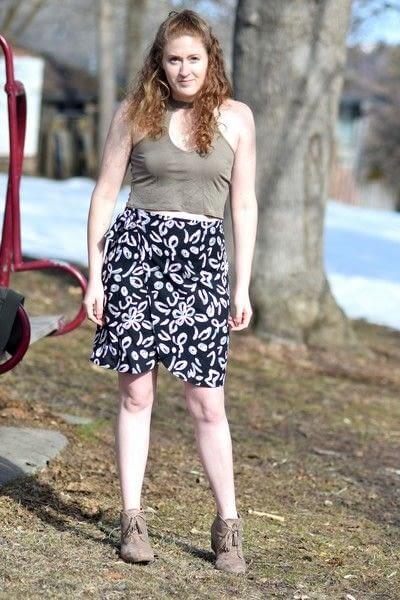 How to make a wrap skirt. Diy Wrap Skirt - Step 14