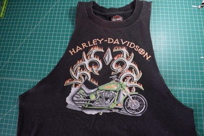 How to make a revamped t-shirt. Easy T Shirt To Racerback Tank Top Diy Upcycle - Step 5