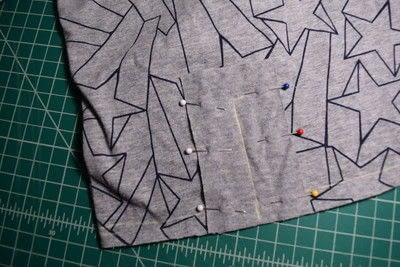 How to make a revamped t-shirt. Diy T Shirt Upcycle To Cropped Top With Lace Up Detail - Step 7