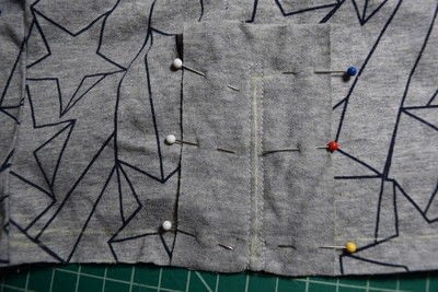 How to make a revamped t-shirt. Diy T Shirt Upcycle To Cropped Top With Lace Up Detail - Step 8