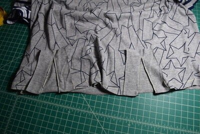 How to make a revamped t-shirt. Diy T Shirt Upcycle To Cropped Top With Lace Up Detail - Step 9