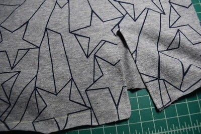 How to make a revamped t-shirt. Diy T Shirt Upcycle To Cropped Top With Lace Up Detail - Step 11