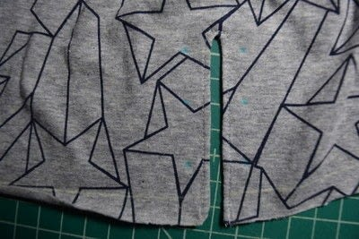 How to make a revamped t-shirt. Diy T Shirt Upcycle To Cropped Top With Lace Up Detail - Step 12