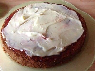 How to bake a coconut cake. Coconut Cream Cake - Step 13