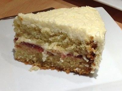 How to bake a coconut cake. Coconut Cream Cake - Step 15