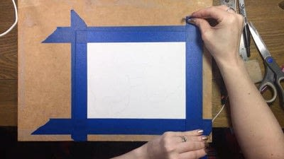 How to paint a piece of watercolor art. Watercolor Still Life - Step 5