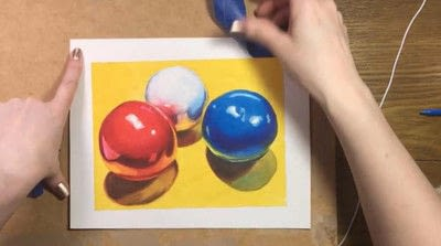 How to paint a piece of watercolor art. Watercolor Still Life - Step 15