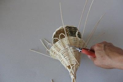 How to make a bird feeder. Bird Feeder - Step 13