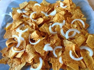 How to cook a bowl of nachos. Pulled Oumph Nachos  - Step 3