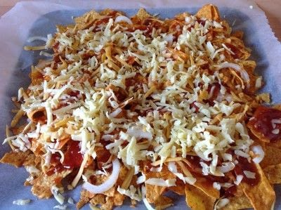 How to cook a bowl of nachos. Pulled Oumph Nachos  - Step 5