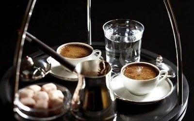 How to make a coffee. Turkish Coffee - Step 7