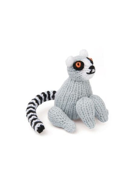 How to make an animal plushie. Knitted Lemur - Step 2