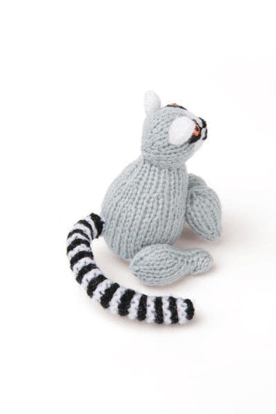 How to make an animal plushie. Knitted Lemur - Step 3