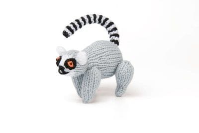 How to make an animal plushie. Knitted Lemur - Step 4