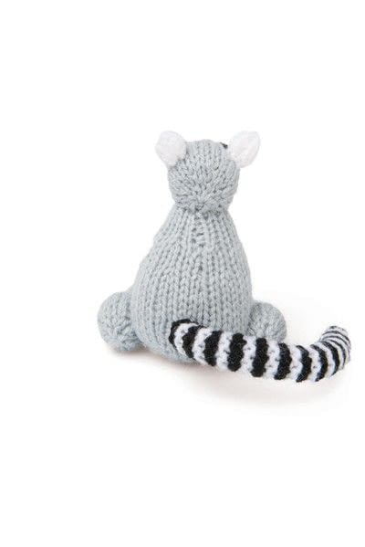 How to make an animal plushie. Knitted Lemur - Step 7