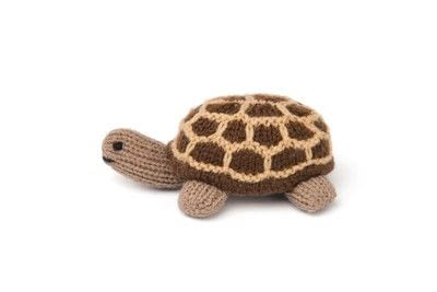 How to make a turtle plushie. Knitted Giant Tortoise - Step 1