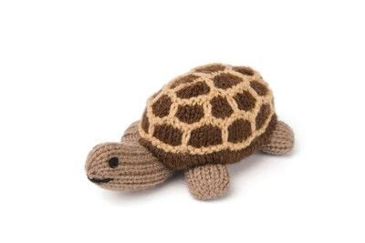 How to make a turtle plushie. Knitted Giant Tortoise - Step 3