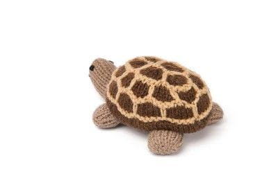 How to make a turtle plushie. Knitted Giant Tortoise - Step 4