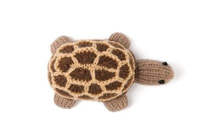 How to make a turtle plushie. Knitted Giant Tortoise - Step 5