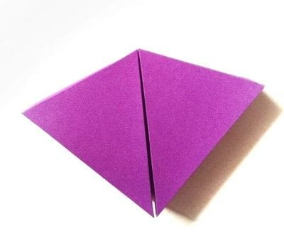 How to make a shaped box. Paper Cake Slice Box - Step 6