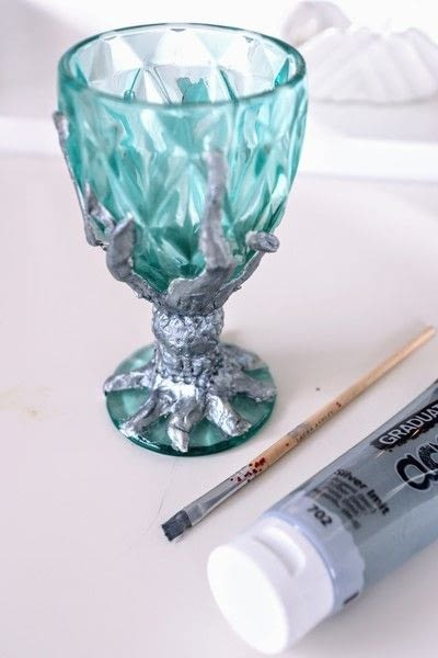 How to make a glass. Medieval Goblet - Step 12