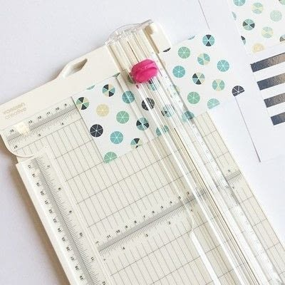 How to make a piece of paper art. Summer Splash Layout - Step 2