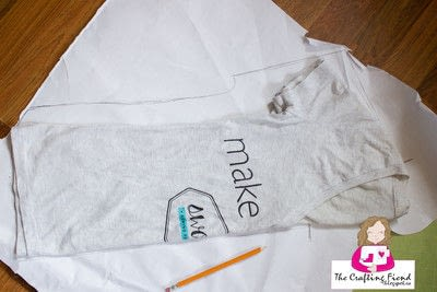 How to make a shirt. Make Your Own Perfect Fit Dolman Top! - Step 1