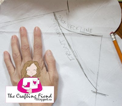 How to make a shirt. Make Your Own Perfect Fit Dolman Top! - Step 2