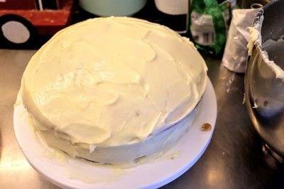 How to bake a chocolate cake. Chocolate Rum Cake - Step 10