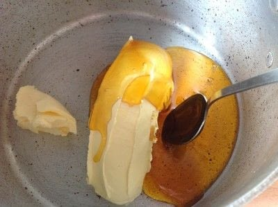 How to bake a bar / slice. Chocolate Slice - Step 1