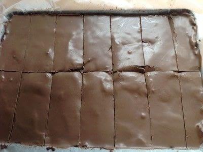 How to bake a bar / slice. Chocolate Slice - Step 5