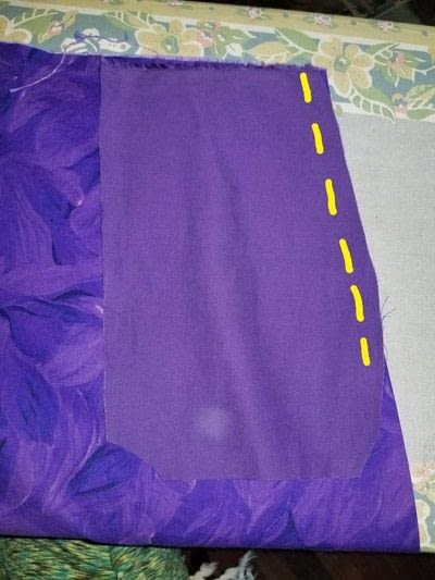 How to sew an elastic waist skirt. Draft A Skirt, Any Size - Step 4