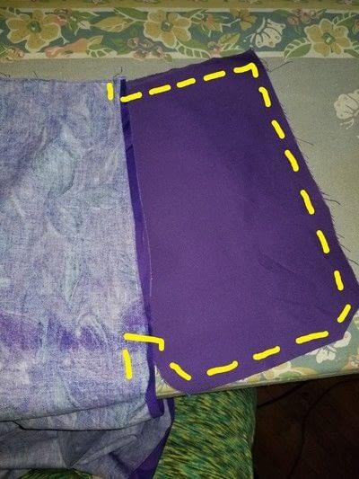 How to sew an elastic waist skirt. Draft A Skirt, Any Size - Step 5